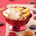 Grilled Peach Crisps