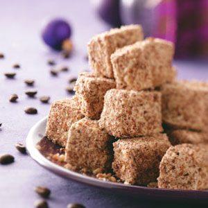 Coffee-Pecan Marshmallows