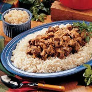 Bavarian Beef Dinner