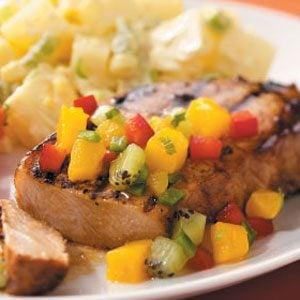 Mango-Lime Pork Chops