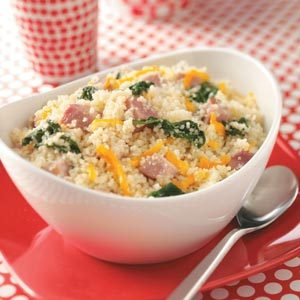Ham & Spinach Couscous