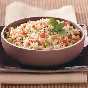 Basil Tomato Rice