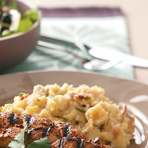Cheese & Parsnip Mashed Potatoes