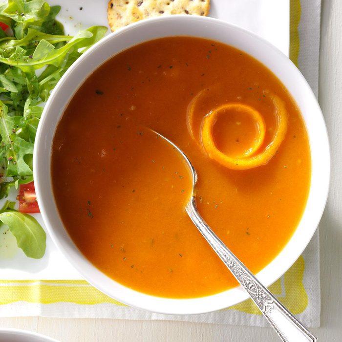Tomato-Orange Soup