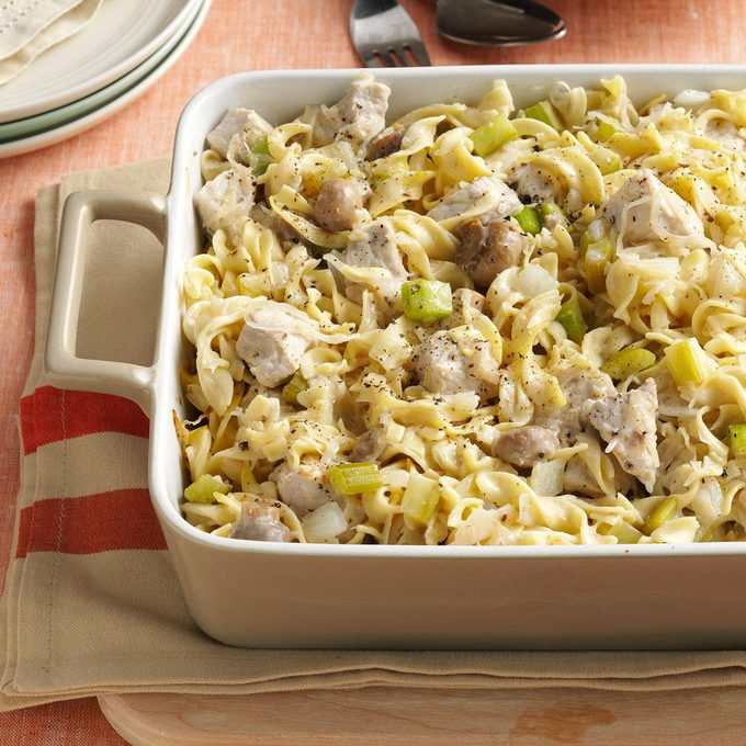 Sauerkraut Hot Dish