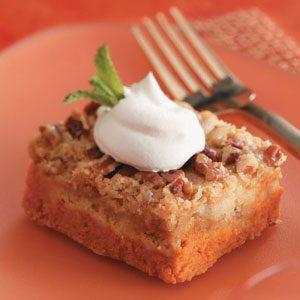 Makeover Crunchy Pumpkin Dessert Squares