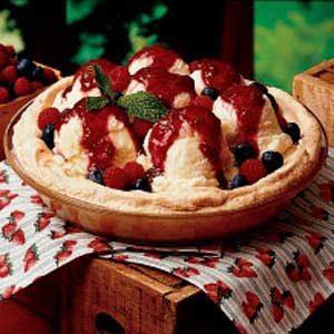 Meringue Berry Pie