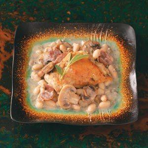 Chicken Saltimbocca with Mushroom Sauce