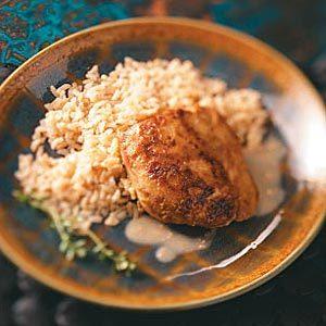 Gingered Chicken Thighs