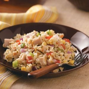 Texas Confetti Rice Salad