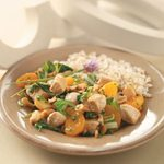Orange-Cashew Chicken and Rice