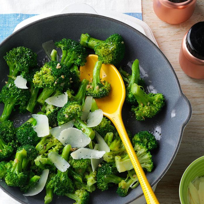 Broccoli with Asiago