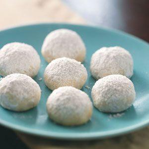 Nutty Orange Snowballs