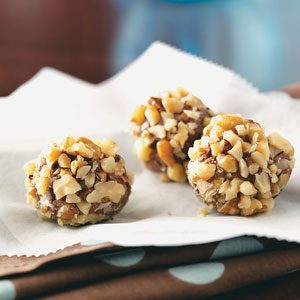 Maple Nut Truffles