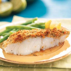 Crumb-Topped Baked Fish