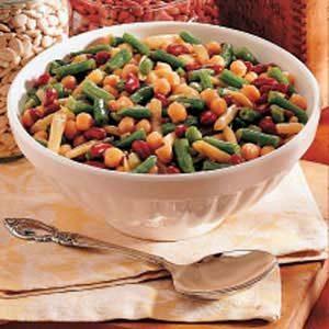 Hot Five-Bean Salad