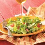 Tossed Salad with Simple Vinaigrette