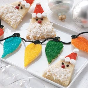 Christmas Lights Sugar Cookies