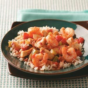 Chicken Shrimp Creole