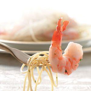 Garlic Lemon Shrimp for 2