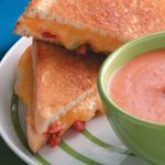 Grilled Tomato-Cheese Sandwiches