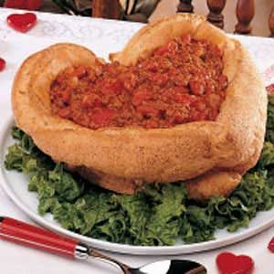 Chili in a Bread Bowl