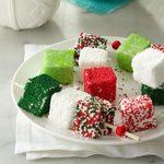 Homemade Holiday Marshmallows