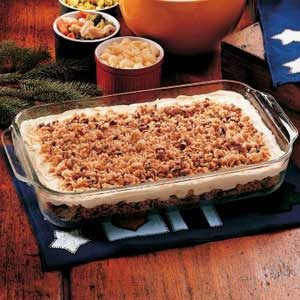Toasted Pecan Pudding