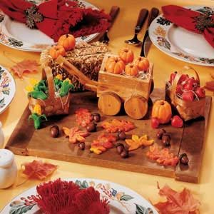 Marzipan Harvest Table Topper