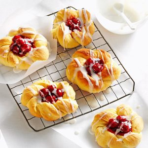 Overnight Cherry Danish