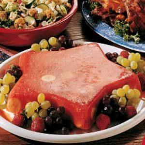 Frozen Fruit Salad Mold