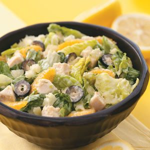 Caribbean Chicken Caesar Salad for Two