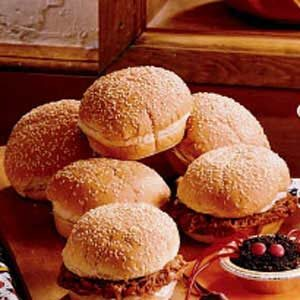 Flavorful Barbecued Pork Sandwiches