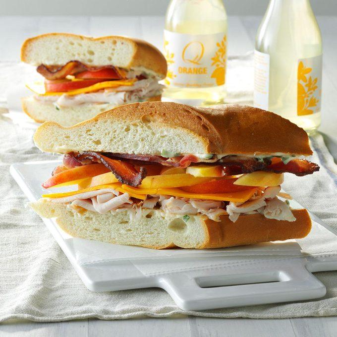 Bacon-Turkey Subs
