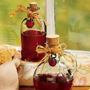Raspberry Honey Vinegar