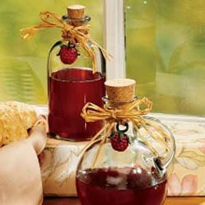 Raspberry Honey Vinegar