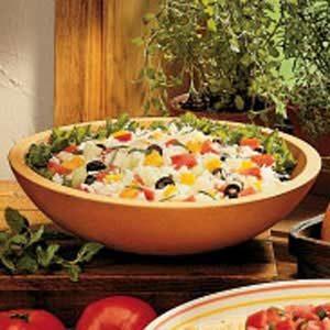 Garden Herb Rice Salad