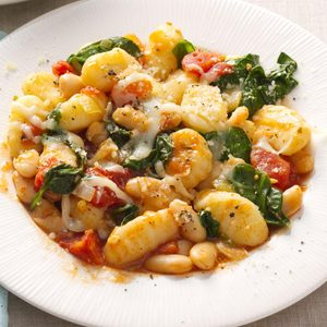 Gnocchi with White Beans