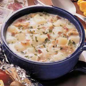 Clam Chowder for One
