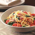 Bacon & Tomato Spaghetti