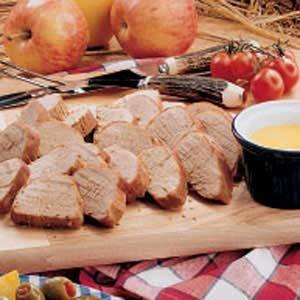 Asian Pork with Hot Mustard Sauce