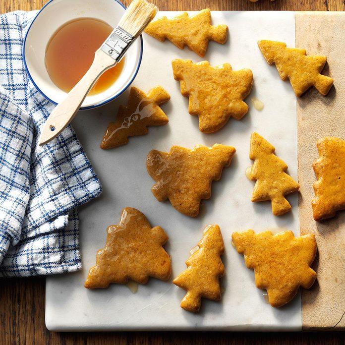 Citrus Gingerbread Cookies