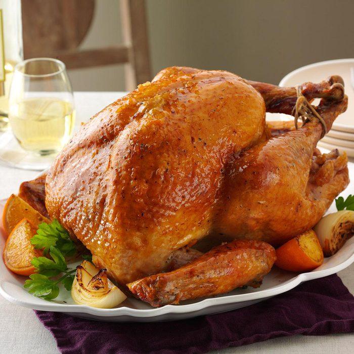 Orange Roasted Turkey