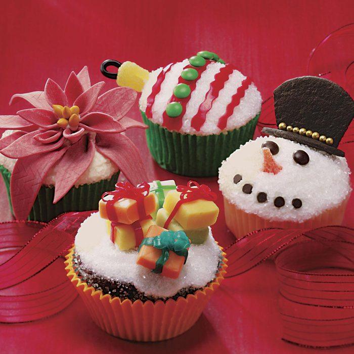 Ornament Cupcakes