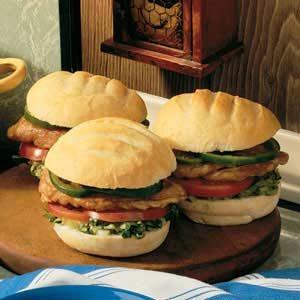 Teriyaki Chicken Sandwiches