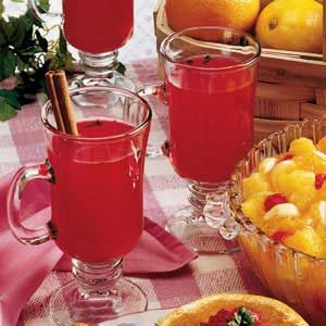 Hot Cranberry Drink