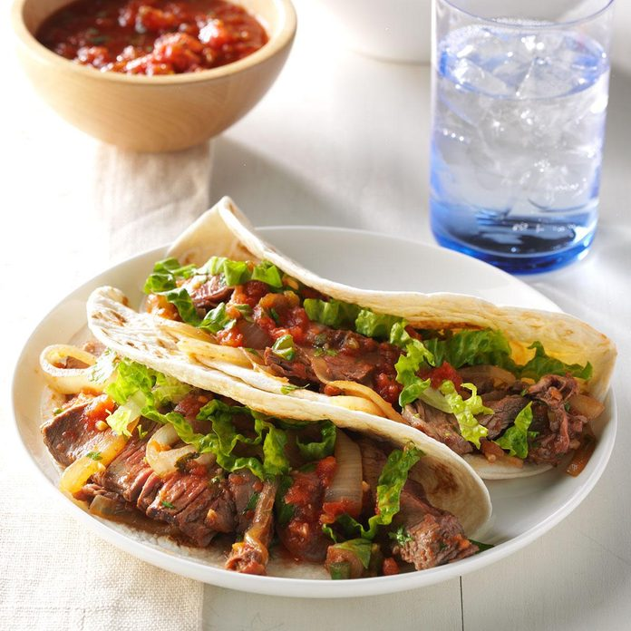 Inspired by: BBQ Brisket Tacos