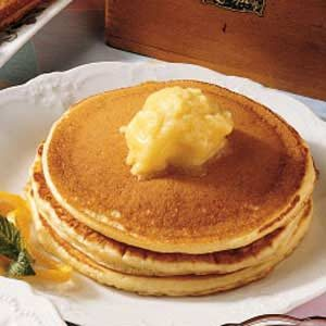 Pancakes with Orange Honey Butter