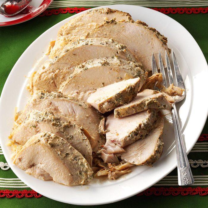 Herbed Slow Cooker Turkey Breast
