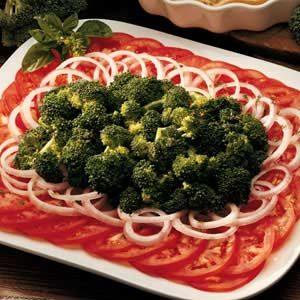 Basil Broccoli/Tomato Platter